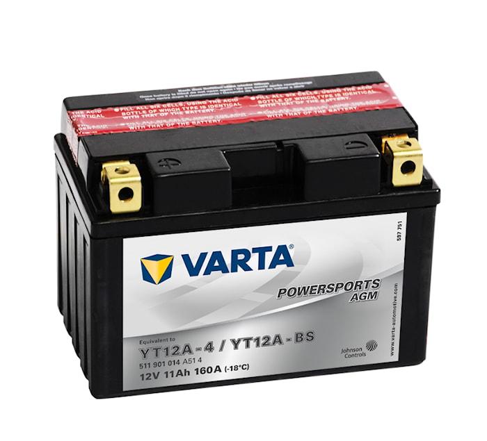 Batteri 11Ah MC YTX AGM