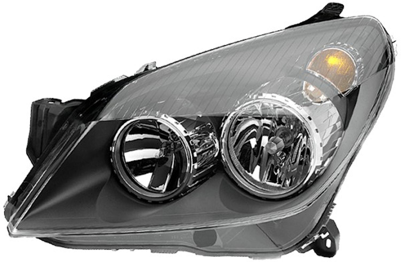 Strålk hö H1/H7 Opel Astra 04-