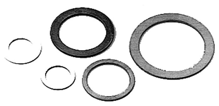 Kopparbricka 5x9x1,0 mm