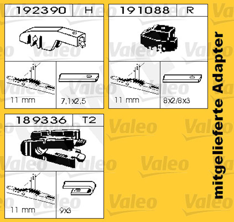 Torkarblad 450mm Ers S 132 450