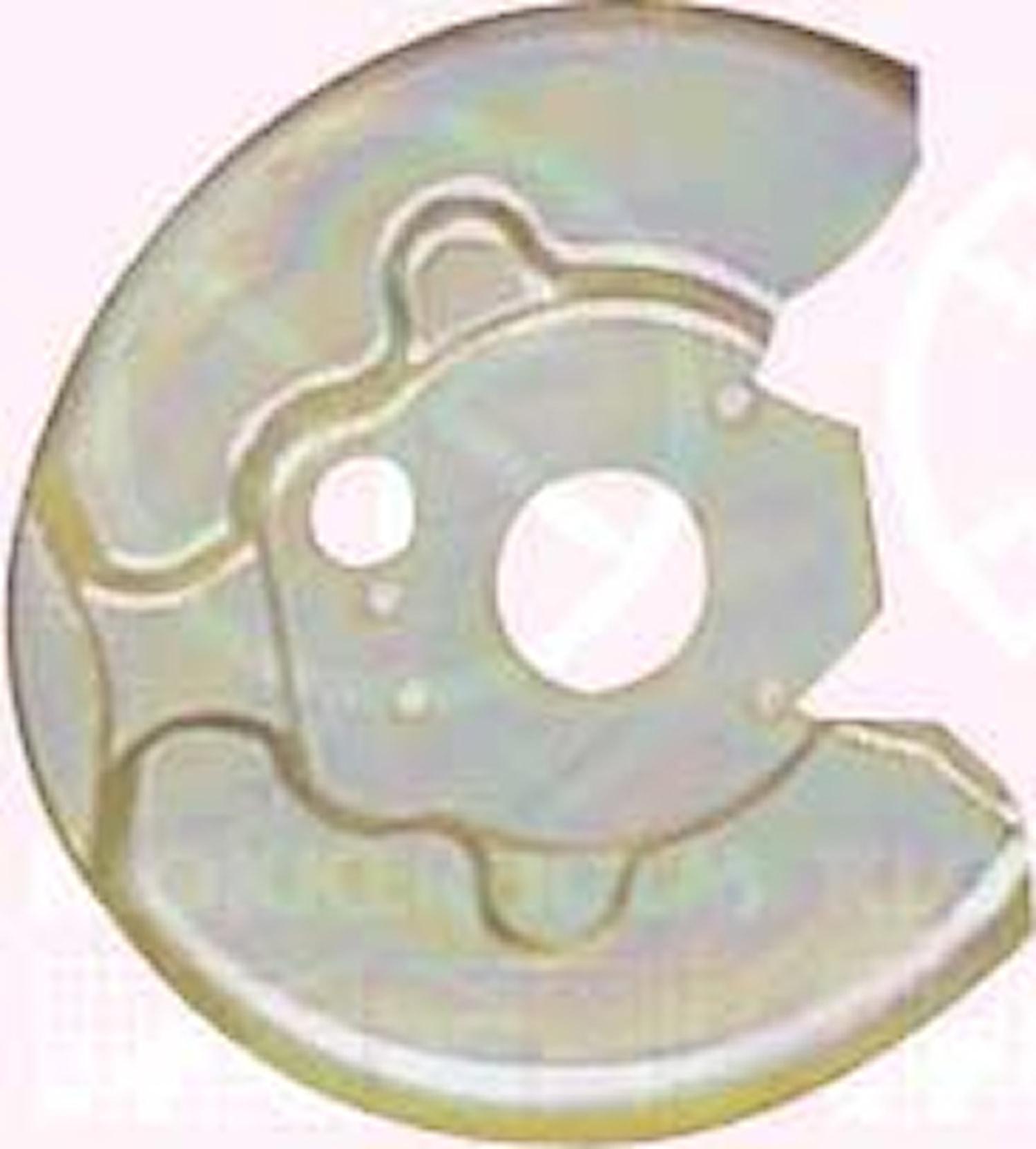 Bromssköld fram(abs)