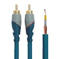 RCA kabel 2 m dubbelskärmad