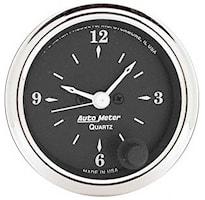 Gauge Clock 2 1/16in 12H