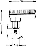Stickpropp 2-pol vinklad 90 gr