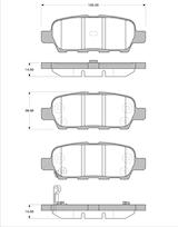 Belägg HP T1334