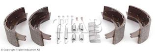 Bromsback sats 4 st bpw  200x5