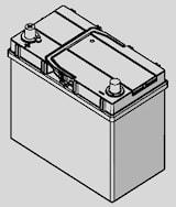 Batteri B33 Blue Dynamic