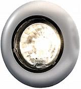 Flushbelysn 12V 81mm Ø silver