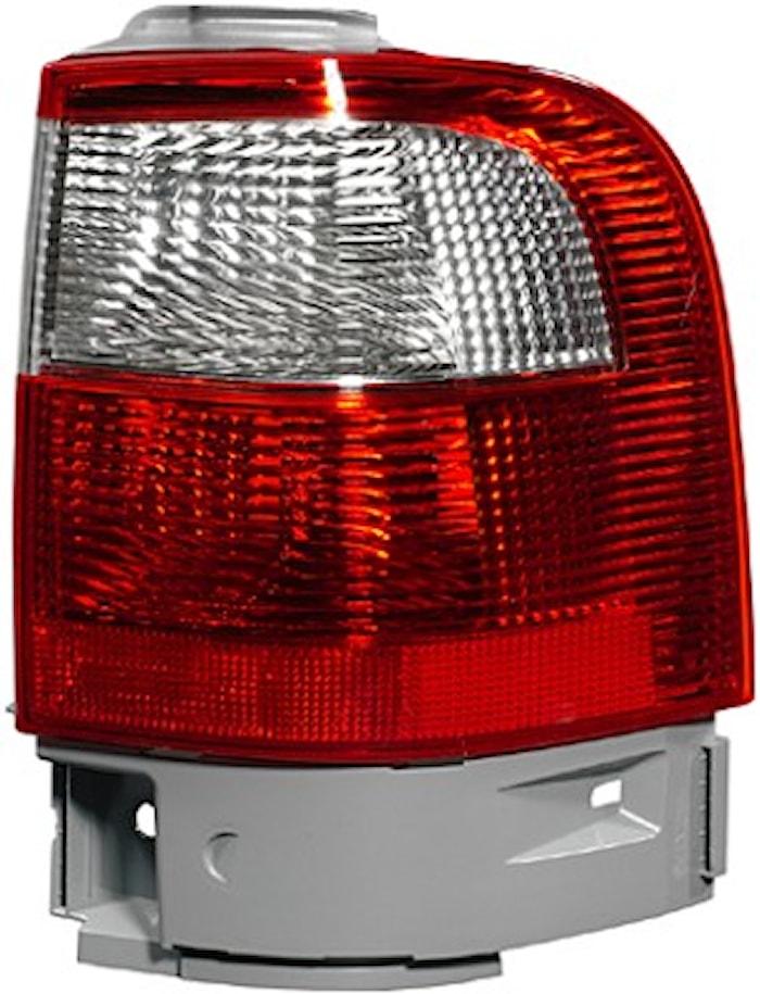 Lyktins vä vit/röd f bakl Ford