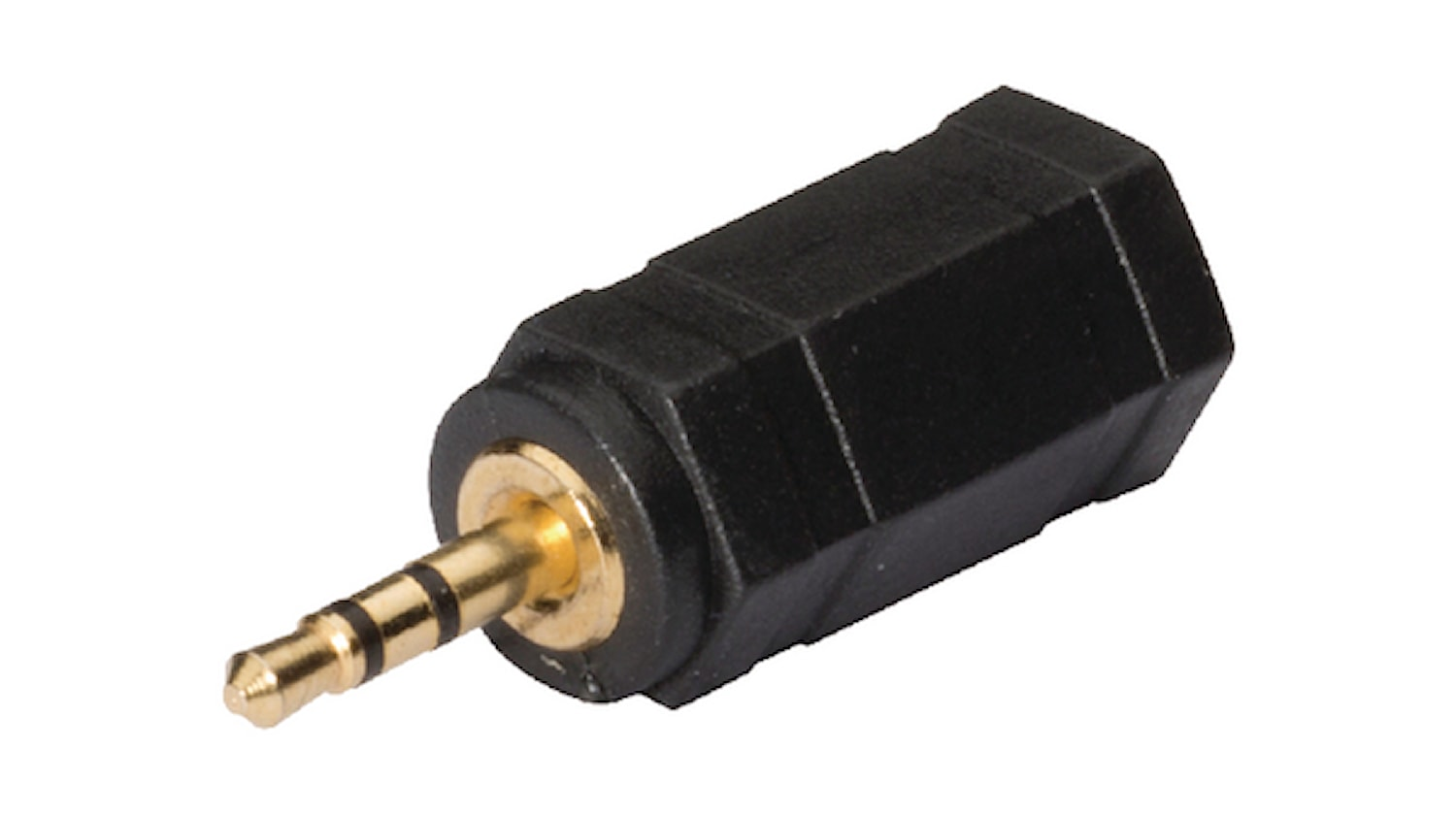 Adapter 2,5mm hane-3,5mm hona