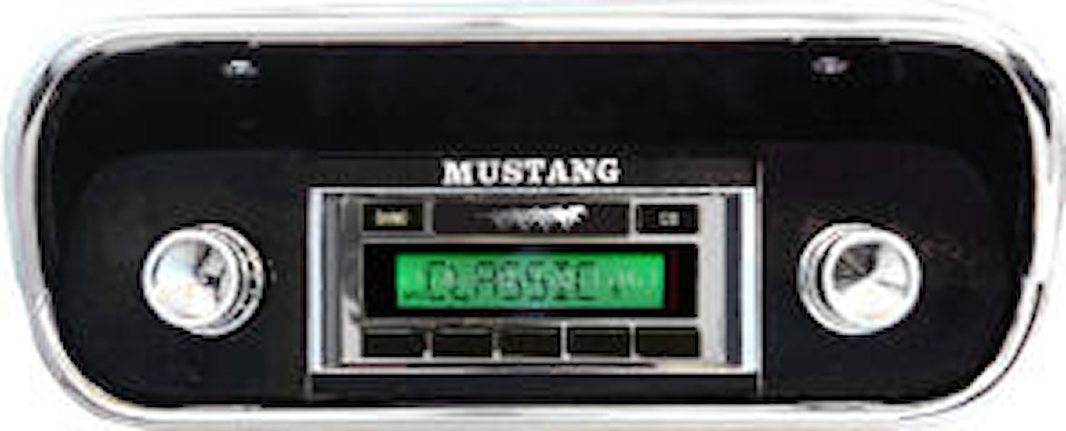 Bilstereo retro USB/AUX/MP3