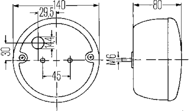 Bak(reg.)-/broms-/blinkl 140mm