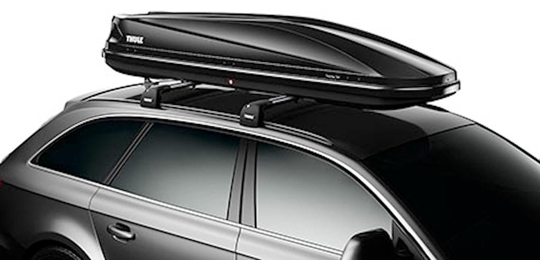 Takbox Touring Alpine700 svart