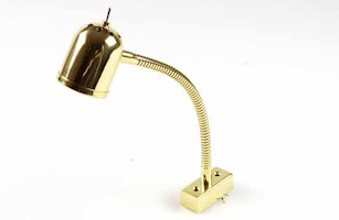 Läsbelysn med strömbr/flexarm