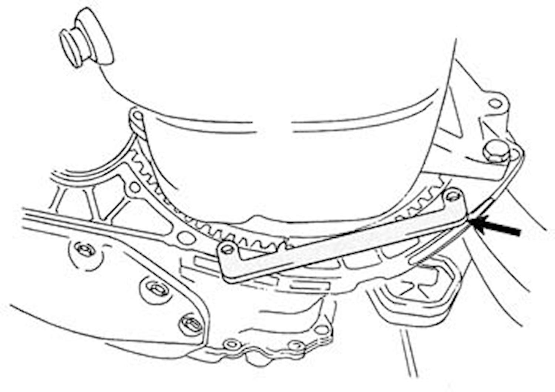 Låsverktygssats Opel diesel