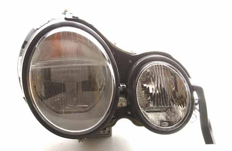 Strålk hö H7/Xenon Merc W210