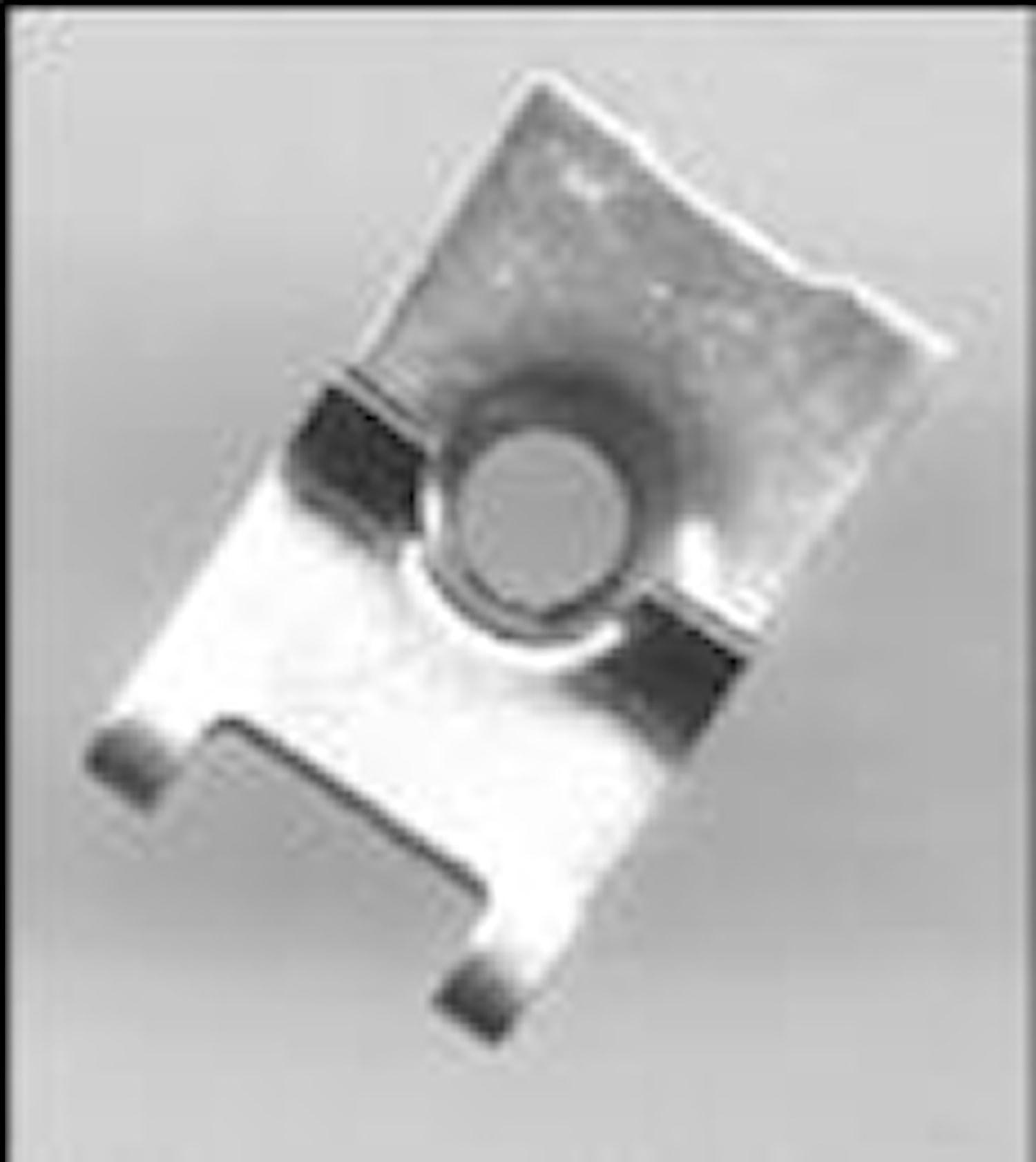 Plåtmutter 6.5 mm