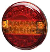 Bak-/broms-/blinkl 140mm Ø LED