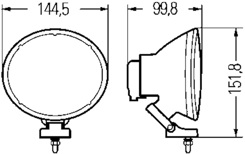 Extraljus Comet 200 Xenon
