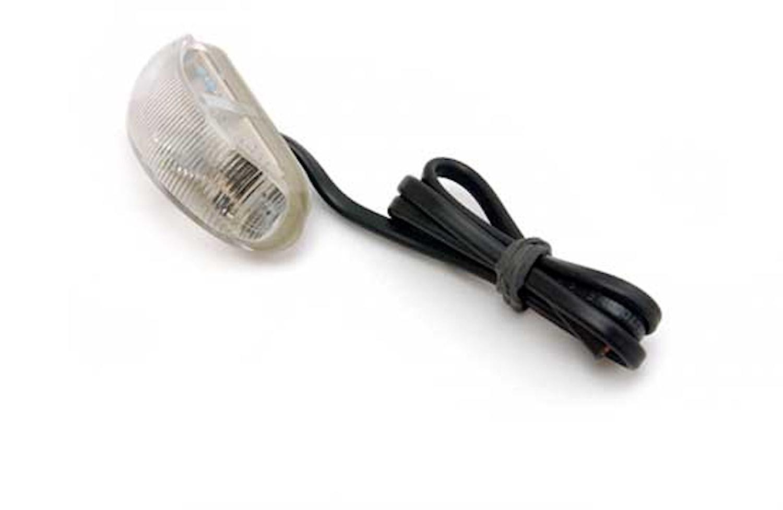 Pos.lykta 8-28V LED gul