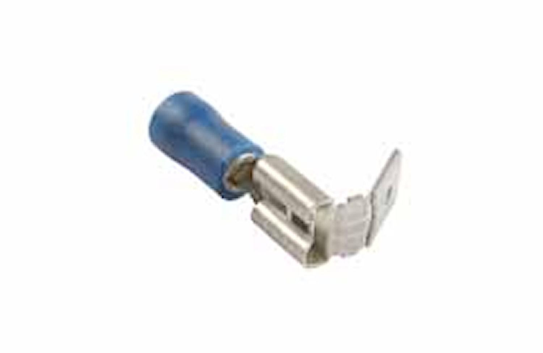 Flatstifth. FLH 6,3x0,8mm blå