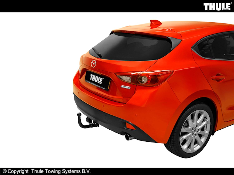 Avtagbar dragkrokt Mazda 3 HB