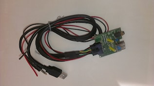 USB/AUX in utbytes Hyundai