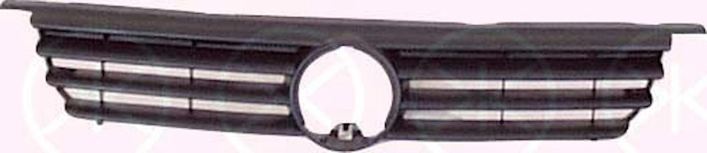 Kylargrill, svart