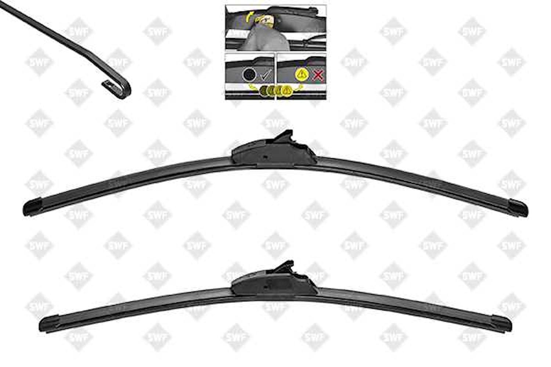 Flatblade set 650 + 500 mm