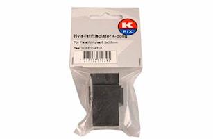 Hyls-/stiftisolator 4-polig
