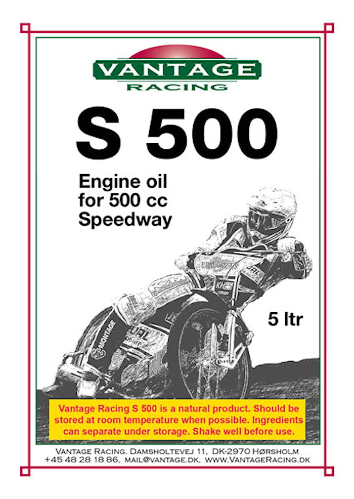 Vantage Racing S500 5l