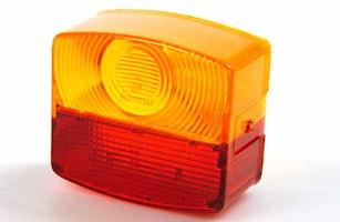 Lyktglas för bakl KF 083150/60