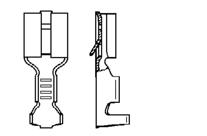 Flatstifthylsa 6,3x0,8 m hake