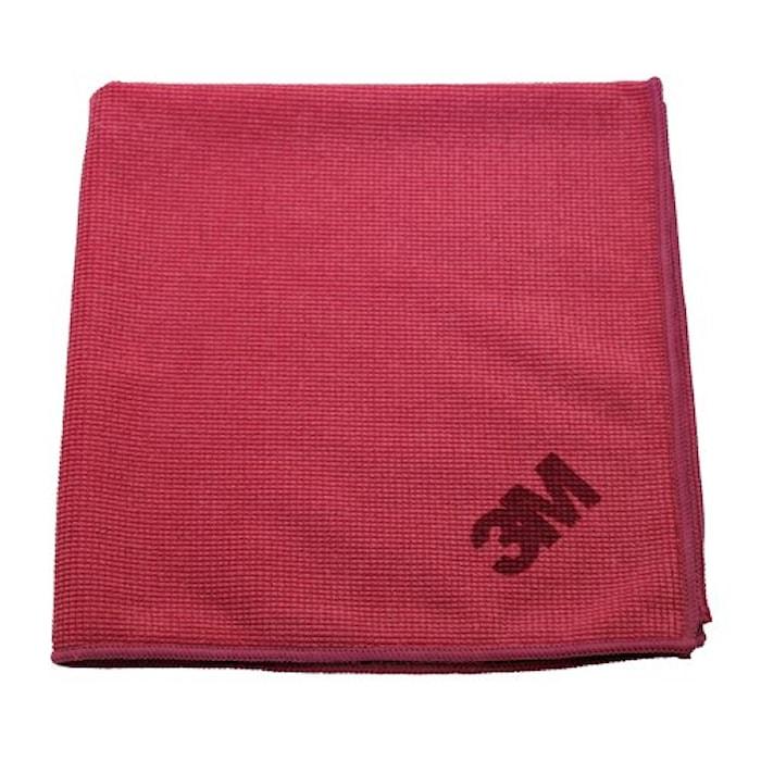 Mikrofiberduk Röd