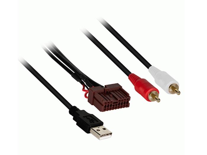USB/AUX in utbytes Kia