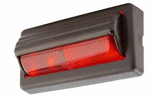 Läslampa 100x94mm rött glas