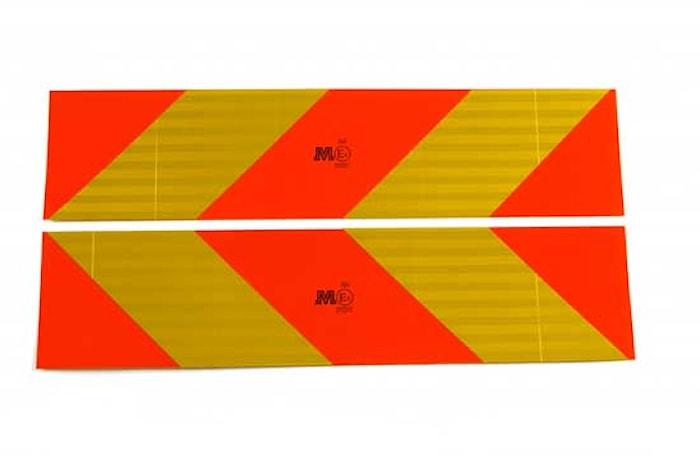 Reflexskylt-sats lim (2-skylt)