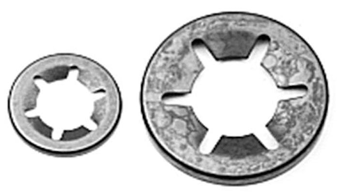 Låsring rund för axel 5 mm