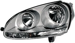 Strålkastare hö H7/H7 VW Golf