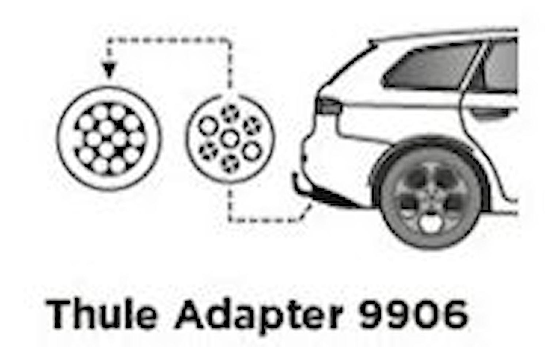 Adapter 13-pol / 7-pol bil