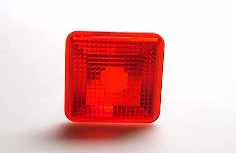 Lyktglas rött f lykta 955 260