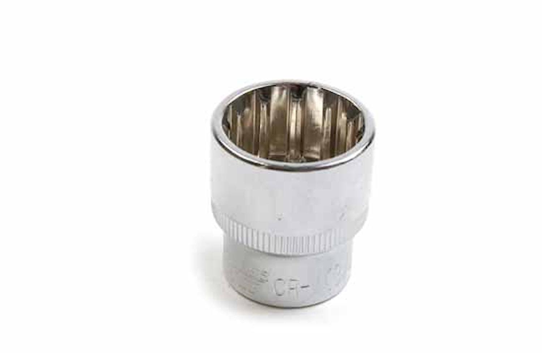 """Hylsa 3/8"""" sfärisk 17 mm"""