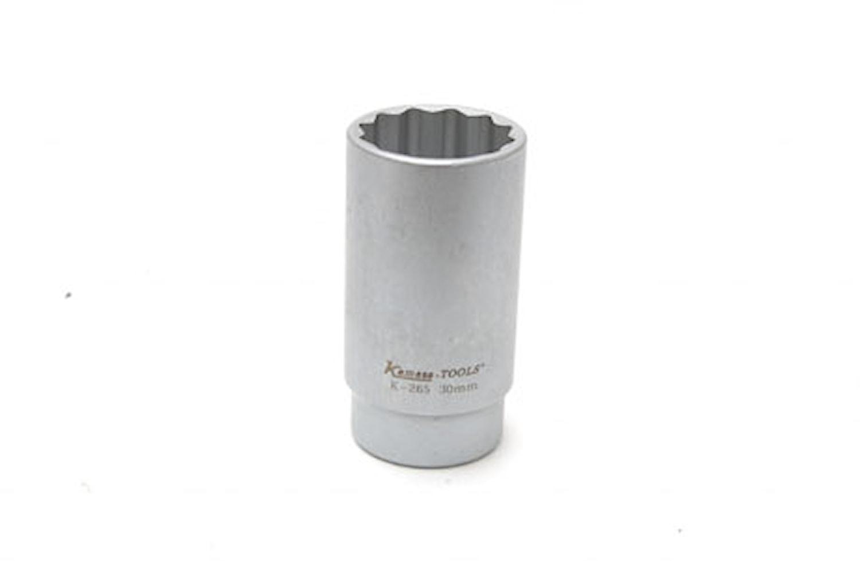 Låsmutterhylsa 12-kant 30 mm