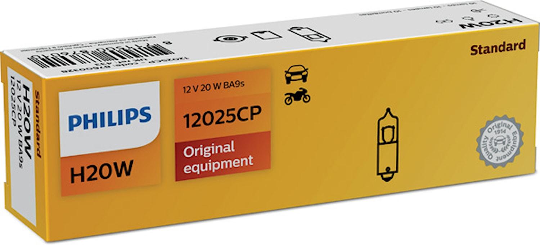 Halogenglödlampa 12V 20W BA9s