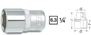 "Hylsa 1/4"" 4 mm"