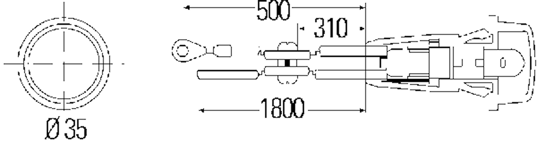 Sidoblink 355mm Ø Opel v/h