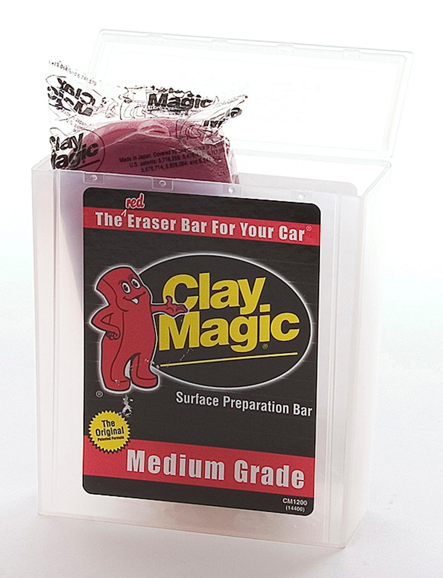 AWC Clay Magic Medium Röd