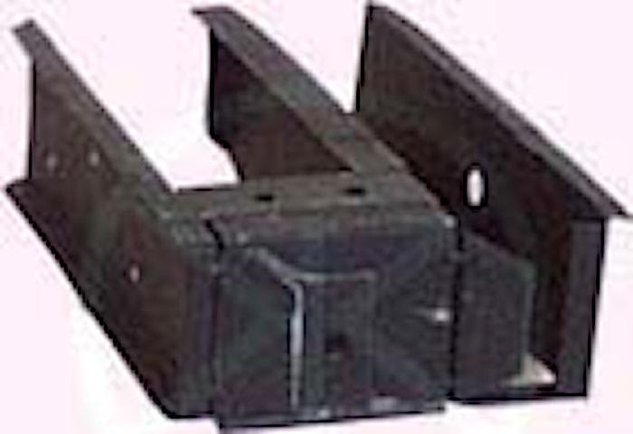 Inner rear wheel arch rear par