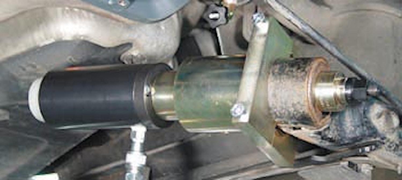 Dragverktyg bakaxel på Audi A3
