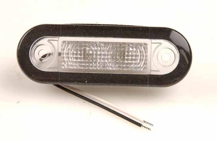 Flushbelysn 10-33V LED vit